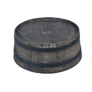 Stand for Roto Water Barrel 350L - Wood-Effect Style - Free UK Delivery