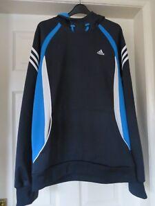 Adidas Climawarm Blue Hoodie Men's c502