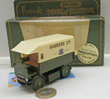 "Walker Electic Van ""HARRODS LTD"", Matchbox Modèle de D'antan N° Y-29"