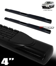 "For 2009-2015 Honda Pilot 4"" Black Steel Side Step Nerf Bars Rail Running Boards"