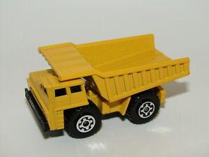 Matchbox Superfast No 58 Faun Dump Truck Light Yellow V N Mint UB