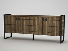 Kommode Braun Sideboard  Anrichte Holz Schrank Beistellschrank 4630