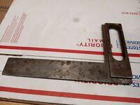 Vintage Rare Goodell Pratt #906 Steel Try Square