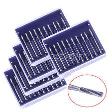 5x Dental Fissure Type Carbide Burs Cylinderical Tungsten Steel Burs FG557