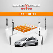 KIT 4 CANDELETTE VW POLO V 6R 1.6 TDI 66KW 90CV 2012 -> GE115