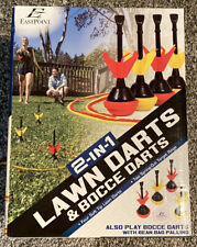 Eastpoint Sports 2 in 1 Lawn Darts and Bocce Darts Combo Set BRAND NEW