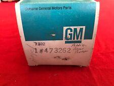 Stripe Decal Rear Bumper Gray Silver 1978 Anniversary Corvette NOS GM 473262