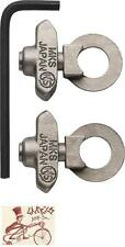 """MKS TRACK  3/8""""--10MM AXLE BICYCLE CHAIN TENSIONERS--ONE PAIR"""