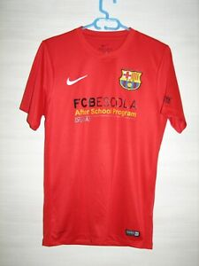 BARCELONA TRAINING SHIRT NIKE JERSEY SOCCER AFTER SCHOOL DUBAI SIZE S
