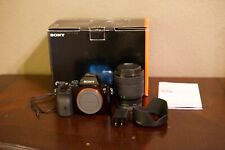 Sony Alpha A7 24.3 MP Mirrorless Digital Camera with 28-70mm Lens 646 shutter ct