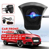 CCD HD Vista Frontale Telecamera 170° For Audi A1 A3 A4 A5 A6 A7 Q3 Q5 Q7 TT 12V