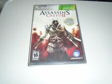 Assassin's Creed II (Microsoft Xbox 360, 2009) BRAND NEW FACTORY SEALED