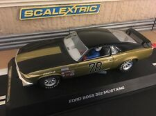 Scalextric Ford Mustang Boss 302 No78 (C2797) totalmente Nuevo