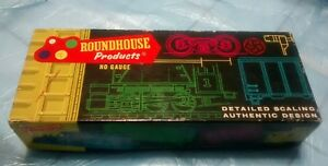 Roundhouse products ho gauge 40' truss side box car seaboard B32 empty box only.