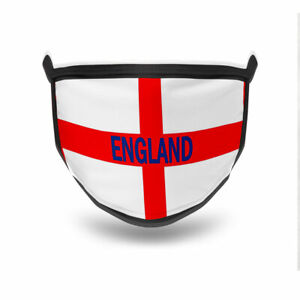 Personalised England  Face Mask - Customised with your message