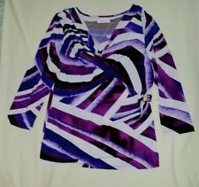 Women's Multi-Colored top size L by Calvin Klein. New!