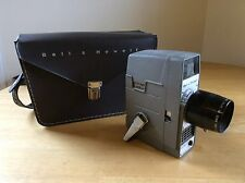 Vintage Bell & Howell Super 8 Video Movie Camera 8mm Electric Eye AT-87130 Case