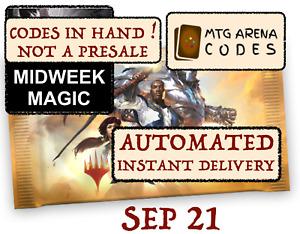 MTG Arena code card FNM / Midweek Magic Promo Pack September 21 -INSTANT EMAIL-