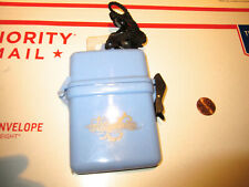 U.S. DIVERS WATERSAFE WATERPROOF CONTAINER WITH LANYARD NEW OLD STOCK COND.