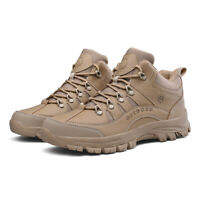 Desert Shoes Men's Hiking Boots Military Tactical Combat Army Boots Outdoor