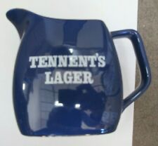 Vintage Tennent'S Lager Pdm Wade England Ceramic Pitcher