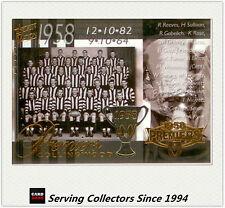 PC20- 2004 AFL Ovation Collingwood 1958 VFL Premiership Commemorative Card