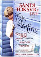 SANDI TOKSVIG Theatre Flyer Tour Handbill