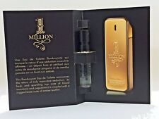 1 ONE MILLION * PACO RABANNE * Cologne for Men Eau De Toilette MINI SAMPLE