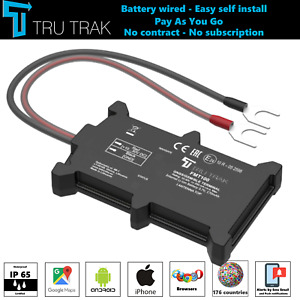 TruTrak GPS Tracker - Real Time Van Motorbike Caravan Truck Car Tracker - PAYG
