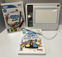 Wii uDraw Game Tablet for Drawing - White 095032 w/ 2 Games Bundle -Free Ship