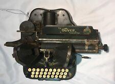 Vintage Oliver Standard Visible Writer No. 5 Typewriter - good cosmetic condit.