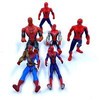 Lot de jouets / figurines Spider-Man x6 - 10 cm environ - Hasbro