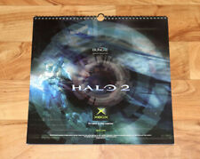 Halo 2 Old Xbox Rare Limited Edition 2004 Calendar Bungie Collectible