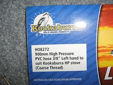 Kookaburra HO8272 LP Gas hose 900mm Coarse Thread