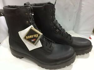 NEW ASSAULT COMBAT MILITARY GORE-TEX BOOT BLACK LEATHER SIZE 15s #1489