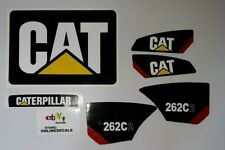 Caterpillar 262 C2 Decal Kit Equipment Decals  Fast Free Shipping