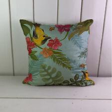 Tropical birds Bee Linen Cushions Cover Sofa Throw Pillow Case