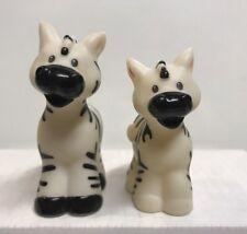 Fisher Price Little People Noah's Ark Pair Of Zebra Figures