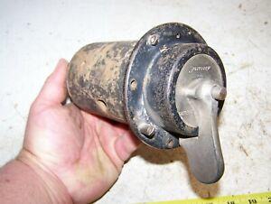 Old SPLITDORF DUAL COIL IGNITION SWITCH  Magneto Battery Brass Era Pre War Auto
