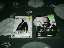 Hitman 2 And Hitman: Contracts For Microsoft Xbox Brand New Factory Sealed