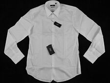 "Hugo Boss White ""Astor"" Embroidered Dress Shirt Size 43-17 100% Authentic BNWT"