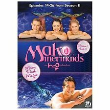 Mako Mermaids - An H2O Adventure: Season 1 - Moon Pool Magic (DVD, 2014,...