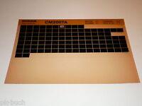 Microfiche Catalogo Ricambi Honda CM 200 P Stand 06/1979