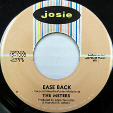 THE METERS 45 Ease Back / Ann JOSIE #719