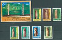 NICARAGUA Yv # 1744 H/P + Bl 220 B Complete Set MNH VF