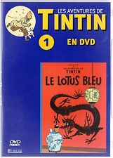 TINTIN  - Intégrale kiosque série Animée - dvd 1  -  Le Lotus Bleu