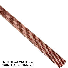 100x 1.6MM TIG WELDING FILLER RODS WIRE ELECTRODES MILD STEEL