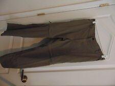 """Men's Reel Legends Birch/Clay Look Nylon Zip Off Sport Pants-L/Ins.29"""""""