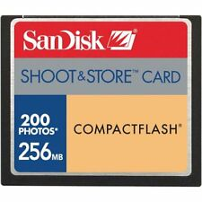 SanDisk Shoot & Store CF 256 MB CompactFlash Card (SDCFS-256-A99)