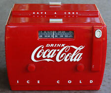 """Radio-Cassette Glacière Coca-Cola """"Années 50"""" / Excellent état!!"""